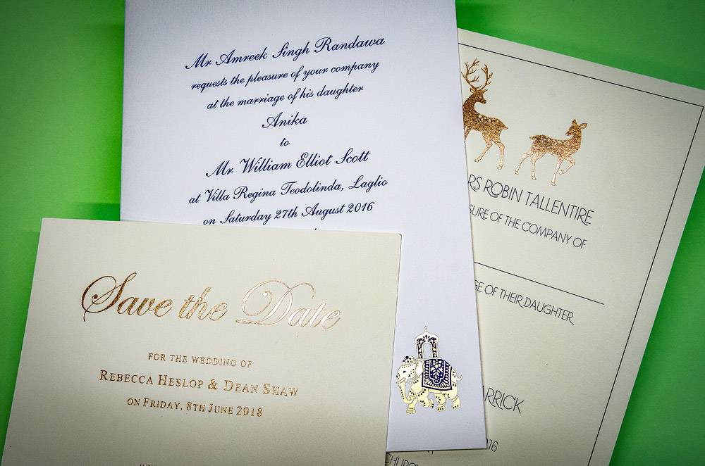 richmond print professional printing design wedding stationery